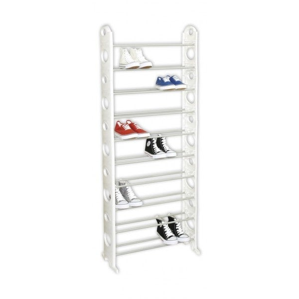 Sunbeam 30-pair Shoe Rack