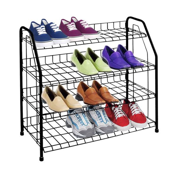 Sunbeam 12-pair Wire Shoe Rack