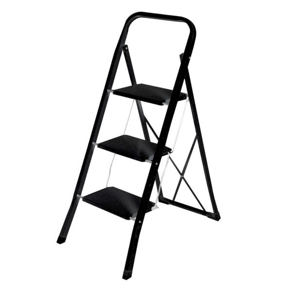 Home Basics 35.5-inch 3-step Ladder