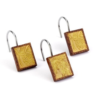 Adirondack Pine Shower Curtain Hooks