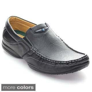 Roucs Cas-51 Men's Casual Moccasin Low Heel Slip On Loafers