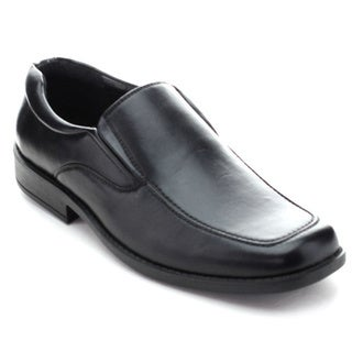 Roucs Dres-17 Men's Business Slip On Low Flat Chunky Loafers