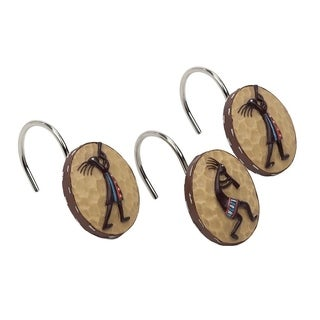 Kokopelli Shower Hooks