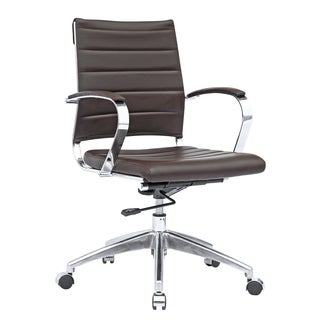 MaxMod Sopada Conference Mid-Back Office Chair, Dark Brown