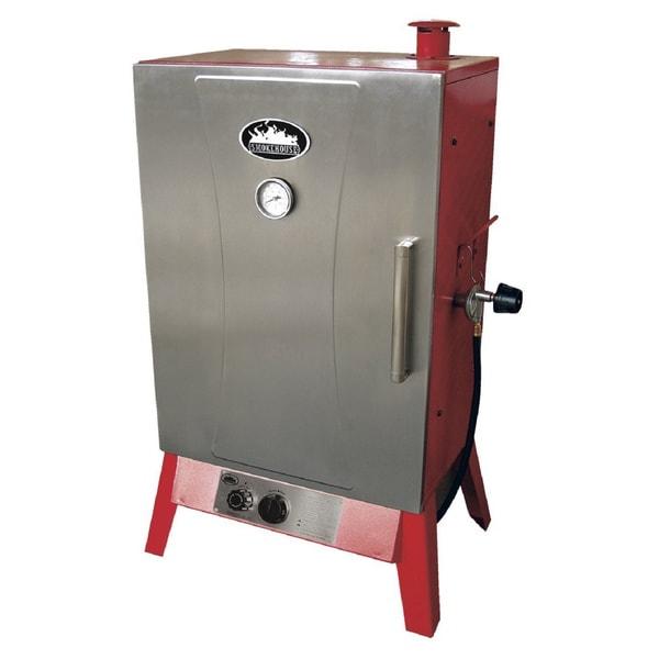 Smokehouse Wide Gas Smoker Cooker