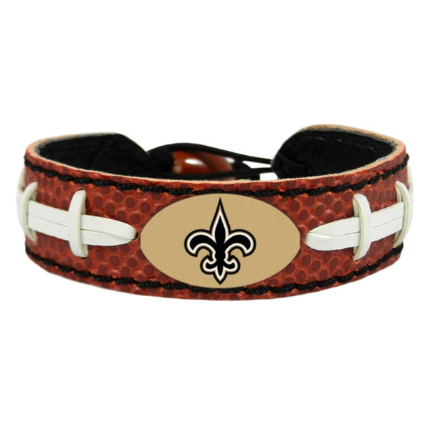 New Orleans Saints Classic Football Bracelet