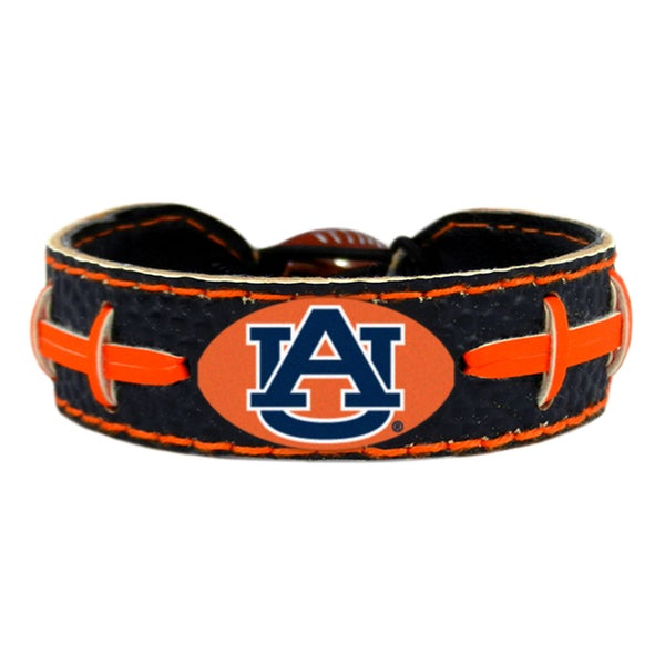 Auburn Tigers Team Color Football Bracelet 15730739