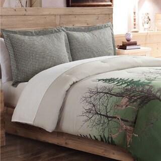 Deer Trail Scenic Reversible 3-piece Comforter Set