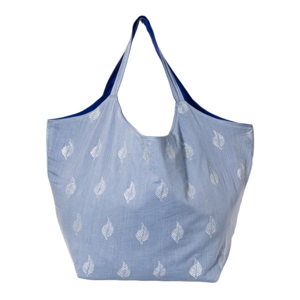 Grey Cotton Duchess Tote Bag (India)