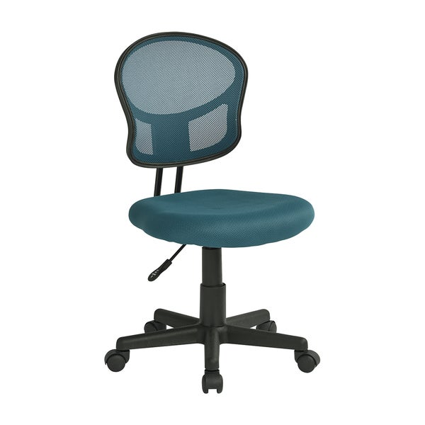 OSP Designs Blue Mesh Task Chair