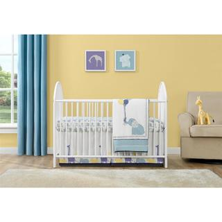Altra Adjustable White Metal Crib by Cosco