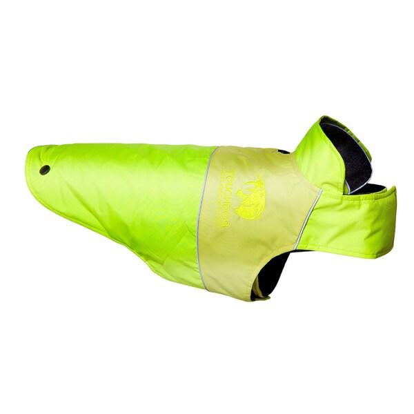 Touchdog Lightening-shield Waterproof 2-in-1 Convertible Dog Jacket with Blackshark Technology