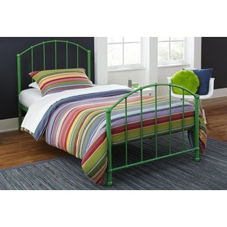 DHP BrickMill Ivy Twin Metal Bed