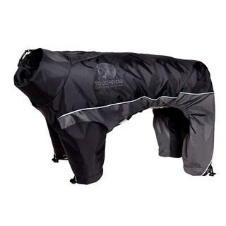 Touchdog Quantum-ice Full-bodied 3m Reflective and Adjustable Dog Jacket with Blackshark Technology