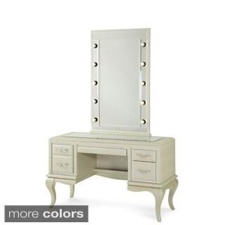 After Eight Vanity/Desk with Vanity Mirror