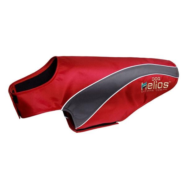 Helios Octane Softshell Neoprene Satin Reflective Dog Jacket with Blackshark Technology