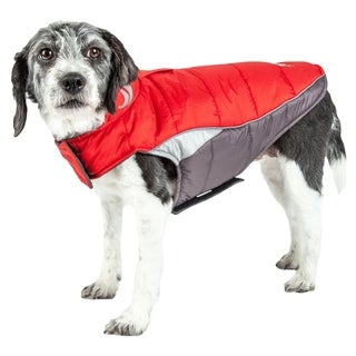 Helios Hurricane-waded Plush 3m Reflective Dog Coat with Blackshark Technology