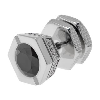 Stainless Steel Cubic Zirconia Stud Earring