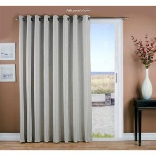 Porch & Den Peete Grass Cloth Grommet Patio Panel