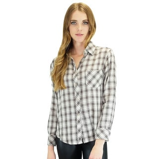 Relished Women's Browning Plaid Button Up