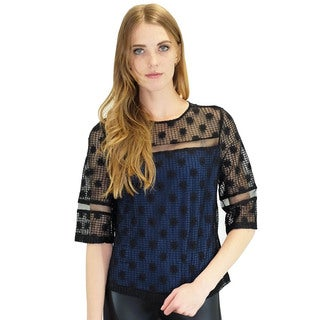 Relished Women's Overlook Navy Blouse