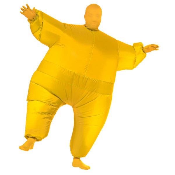 Adult Yellow Infl8s Inflatable Jumpsuit