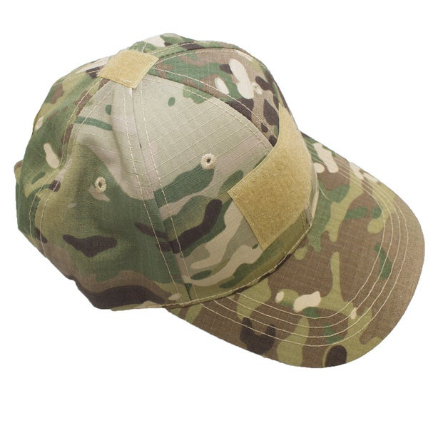 Outdoor Tactical Hat Cap with Loop Patchs