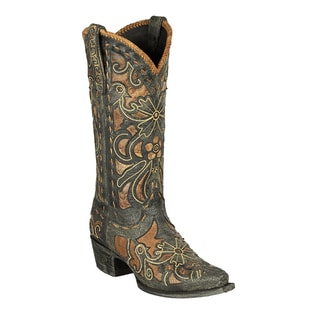 "Lane Boots ""Robin"" Women's Leather Cowboy Boot"