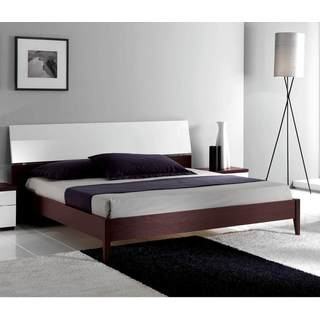 Luca Home Wenge/ White Bed