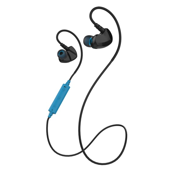 Merkury Innovations Link Bluetooth Wireless Sweat-proof Sport Earbuds