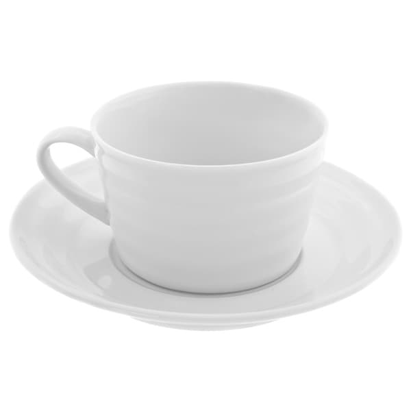 10 Strawberry Street Swing Oversized Cup and Saucer (Set of 6) 15738486