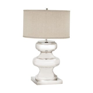 Dimond Massive Turned Brass Table Lamp