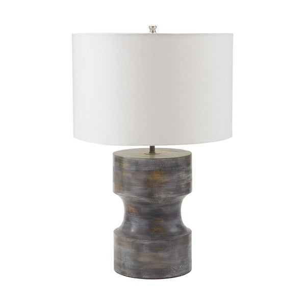 Dimond Dumbell Grey Table Lamp