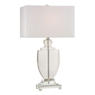 Dimond Avonmead Solid Clear Crystal Table Lamp