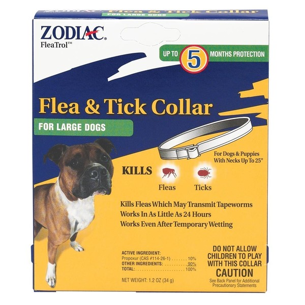 Zodiac Flea and Tick 5-month Dog Collar