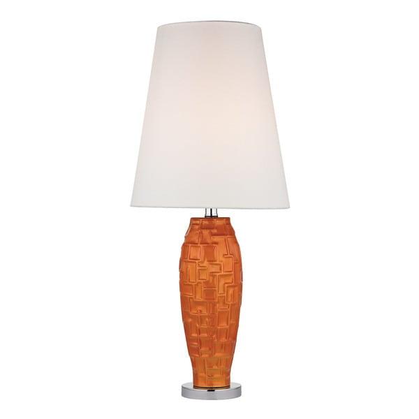 Dimond Hawick Ceramic Tangerine Orange Table Lamp