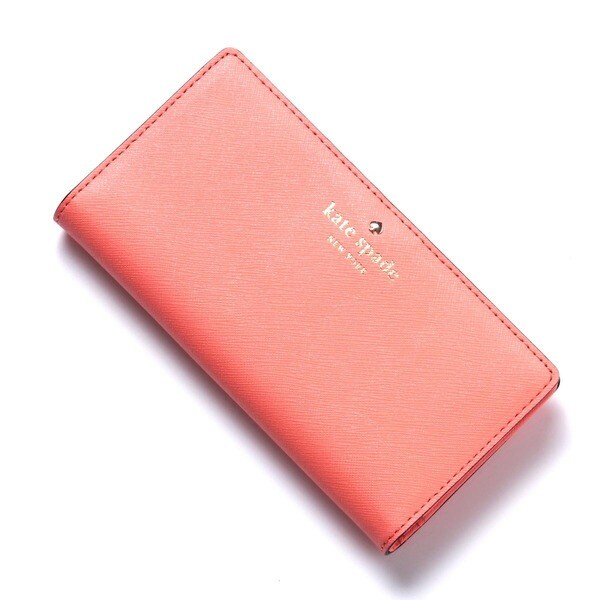 Kate Spade New York Cedar Street Stacy Leather Guava Wallet