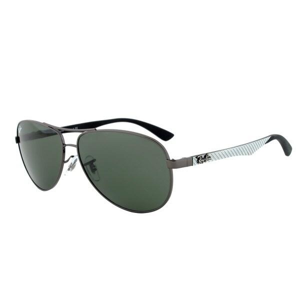 Ray-Ban RB 8313 004 Aviator Sunglasses - Gunmetal Frame