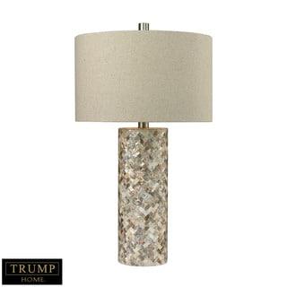 Dimond Trump Home Herringbone Natural Mother of Pearl Table Lamp