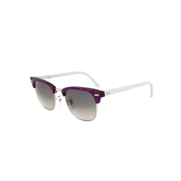 Ray-Ban RB 3016 998/32 Clubmaster Sunglasses - Violet Frame