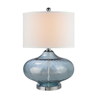 Dimond Bulbus Translucent-light Blue Glass Table Lamp