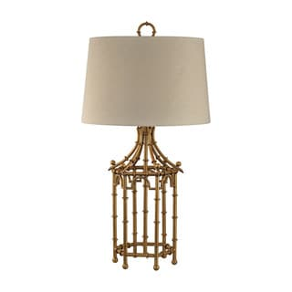 Dimond Bamboo Birdcage Lamp