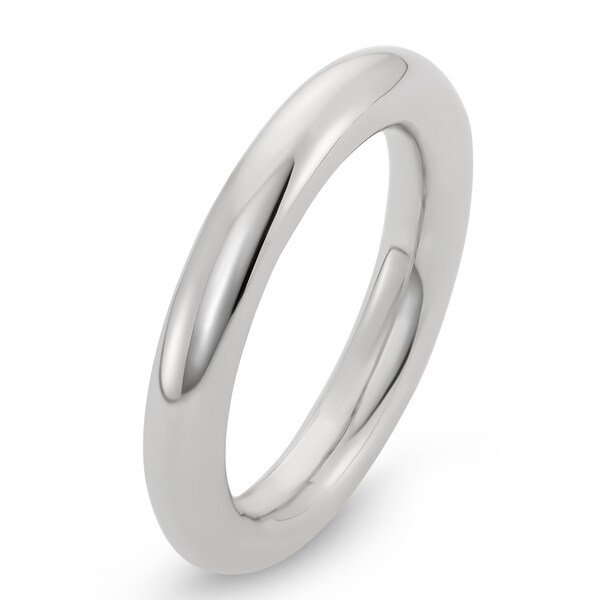 Facet Nation - Sterling Silver Spinning Ring