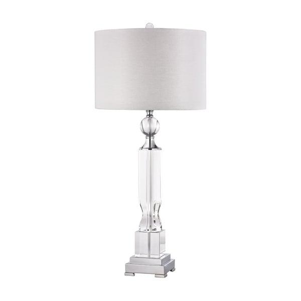 Dimond Embellished Crystal Column Lamp