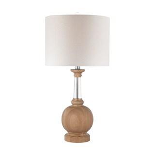 Dimond Wood Crystal Lamp