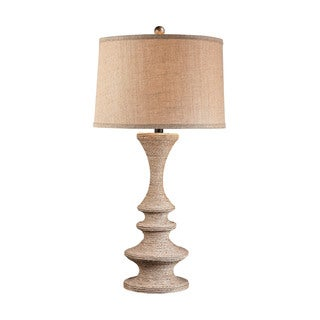 Dimond Wrapped Rope Table Lamp