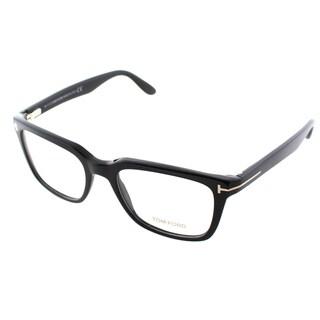 Tom Ford Mens FT 5304 001 Black Square Eyeglasses