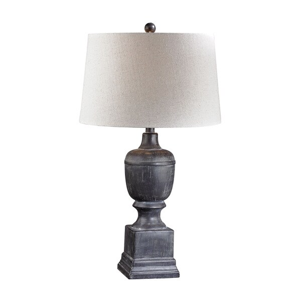 Dimond Black Ash Column Lamp