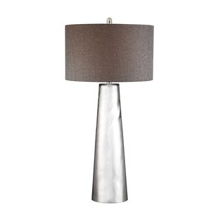 Dimond Tapered Cylinder Mercury Glass Table Lamp