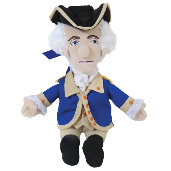 George Washington Little Thinker Plush Doll